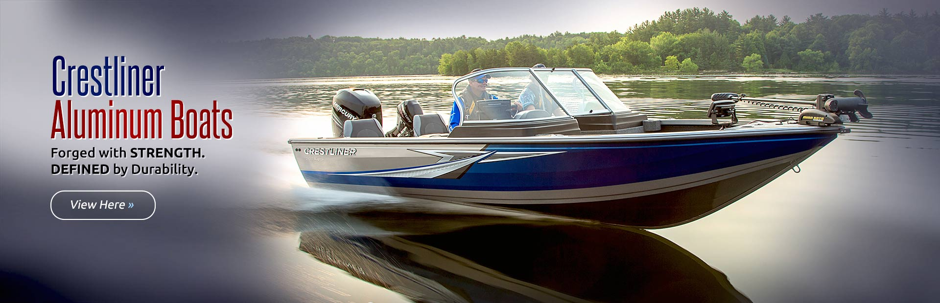 Crestliner Aluminum Boats: Click here to view the models.