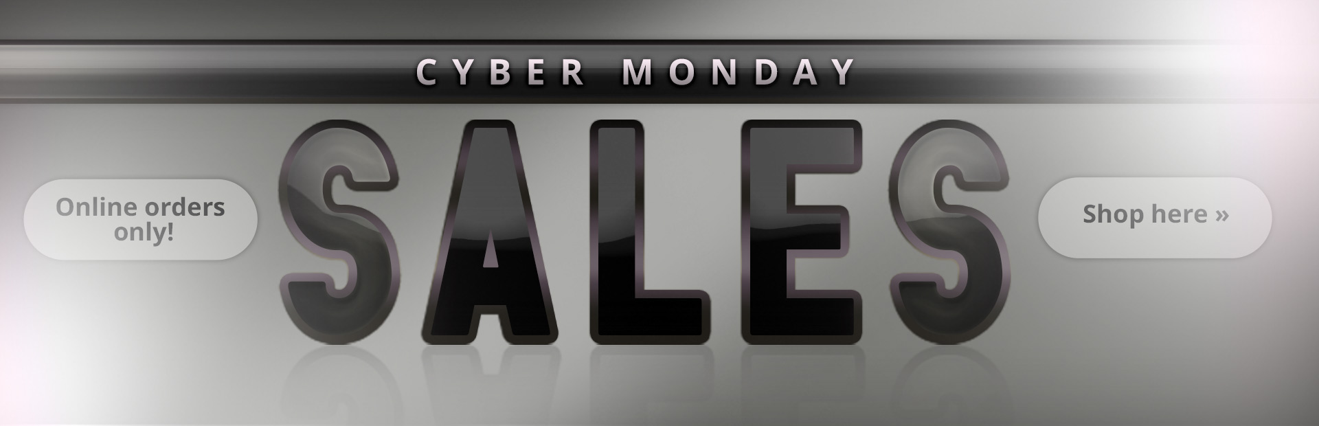 Click here to shop for Cyber Monday Sales offered only on online orders.