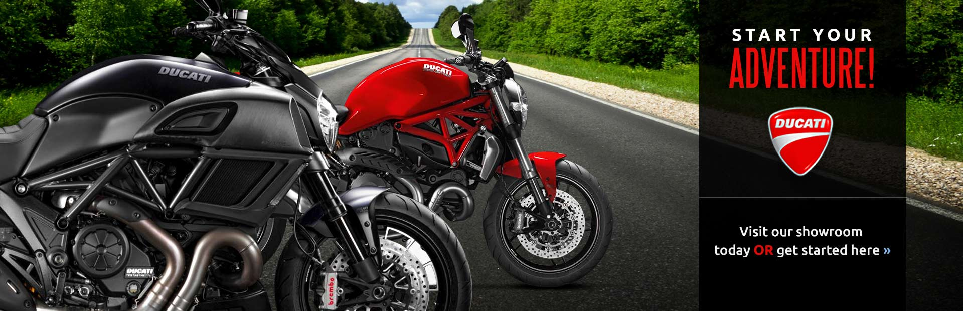 Click here to browse our selection of Ducati bikes!