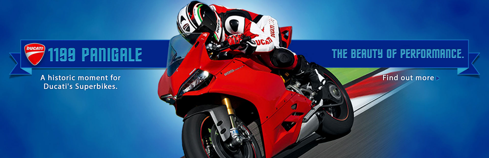 Click here to view the Ducati 1199 Panigale Superbikes.