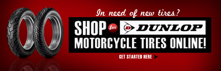 Click here to browse Dunlop motorcycle tires online!