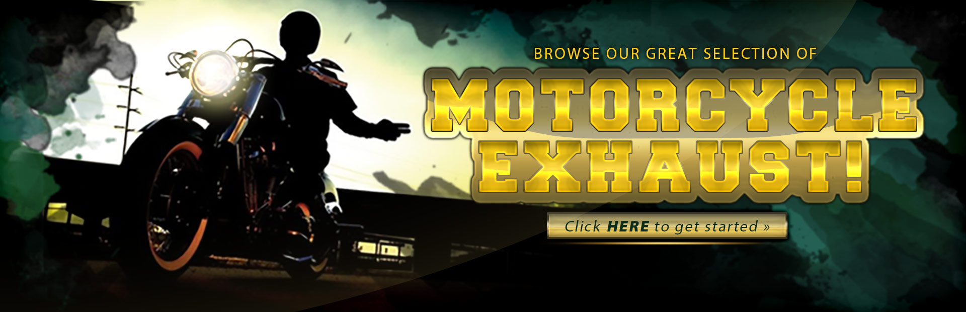 Click here to browse our great selection of motorcycle exhaust!