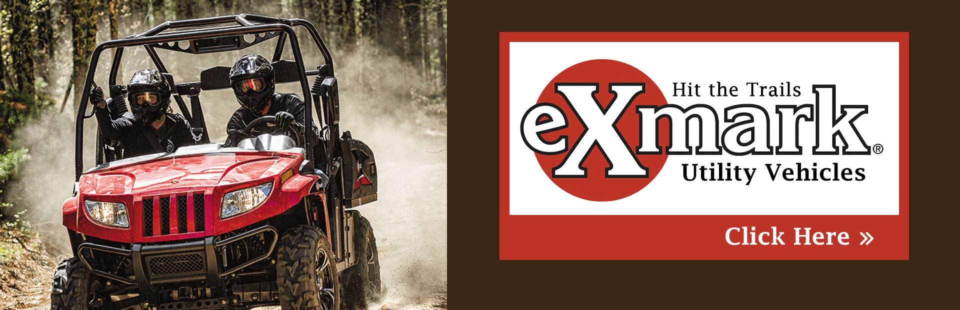Click here to view our selection of Exmark utility vehicles!