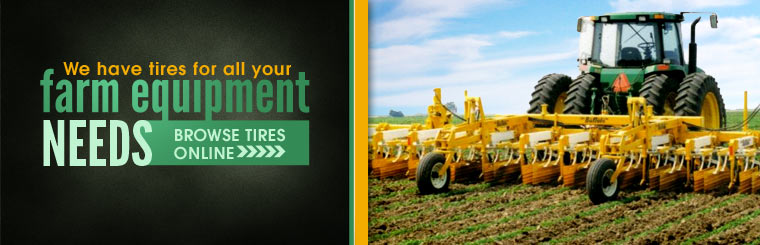 Click here to browse our selection of tires for your farming equipment needs!