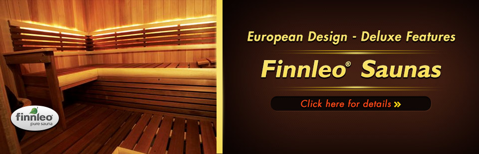 Click here to contact us about Finnleo® saunas.