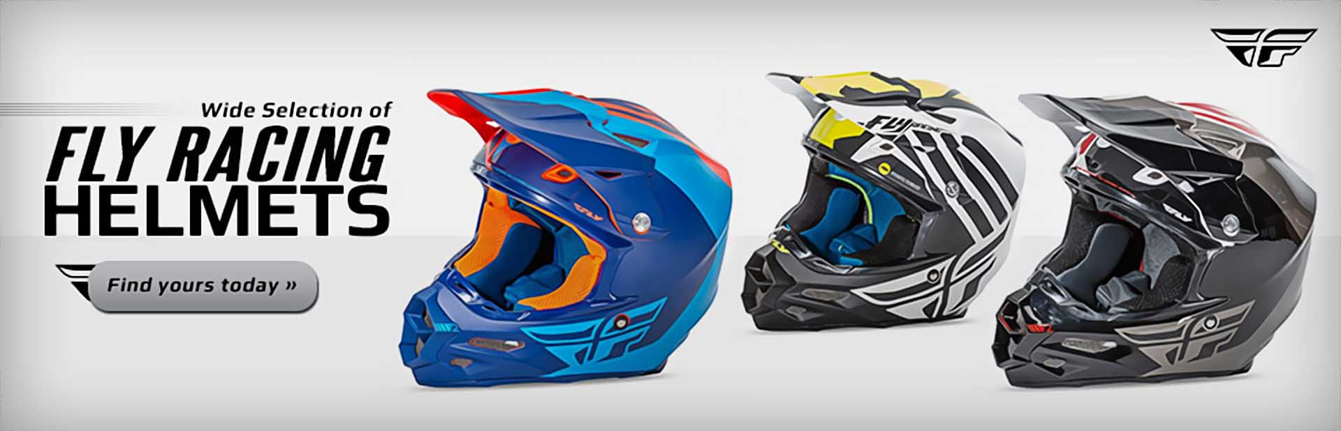 Fly Racing Helmets: Click here to shop online.