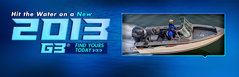 Click here to view the 2013 G3® boats.