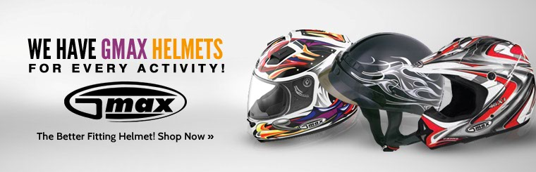 Click here to view our selection of GMAX helmets.