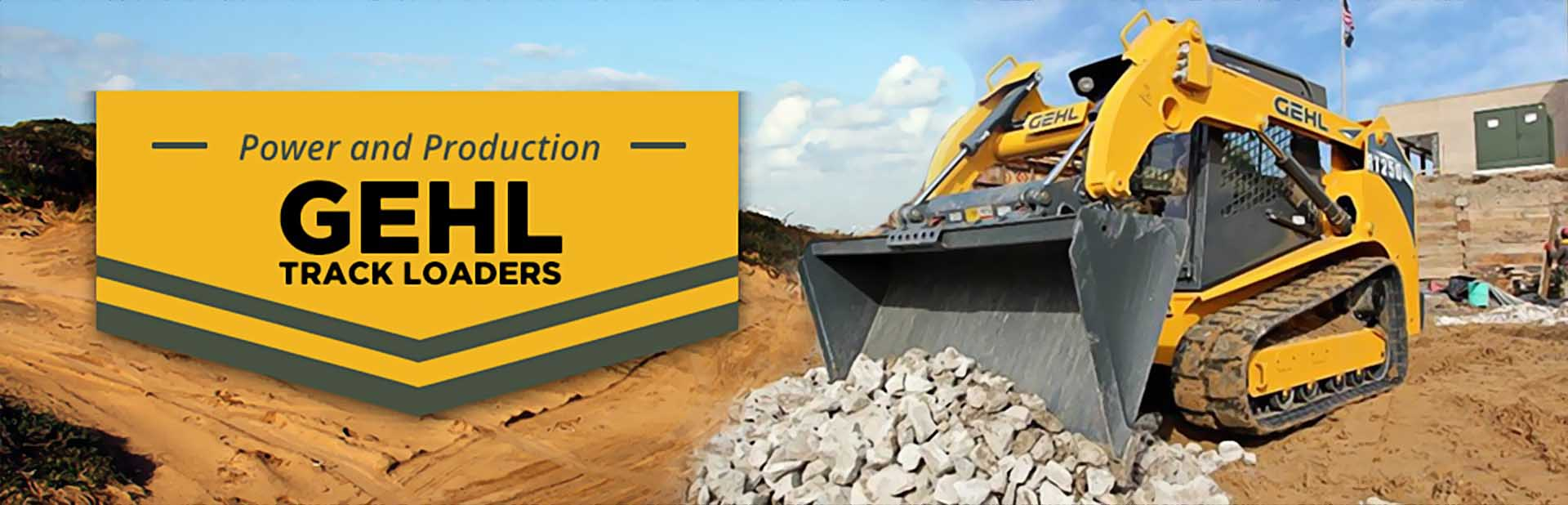 Gehl Track Loaders: Click here to view the models.