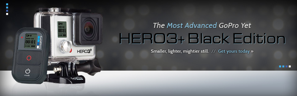 GoPro HERO3+ Black Edition: View our selection online.