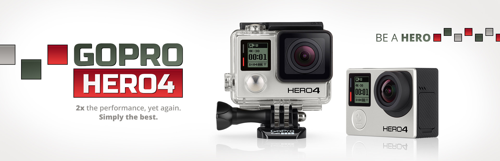 GoPro HERO4: Click here for details.