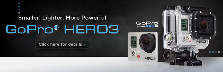 GoPro® HERO3 Accessories Cases Parts