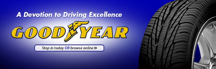 Click here to browse Goodyear tires.