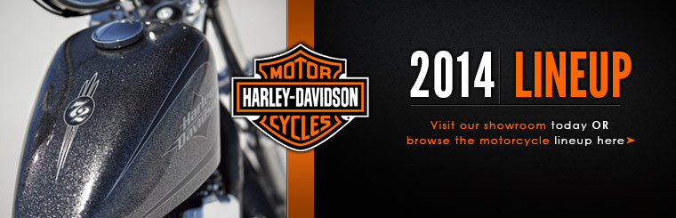 Check out the 2014 Harley-Davidson® lineup.