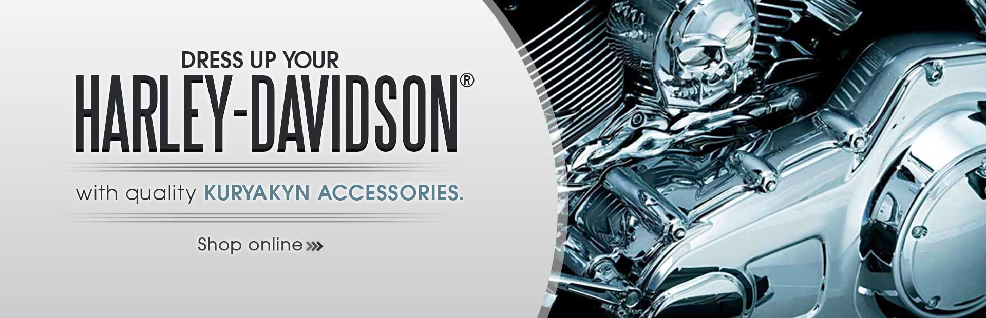 Click here to shop our selection of quality Kuryakyn accessories for your Harley-Davidson®!