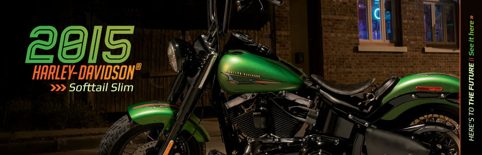 2015 Harley-Davidson® Softtail Slim: Click here to view the model.