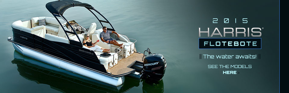 2015 Harris FloteBote: Click here to view the models.