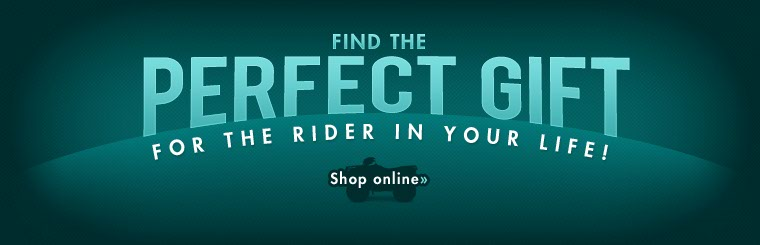 Find the perfect gift for the rider in your life! Click here to shop online.