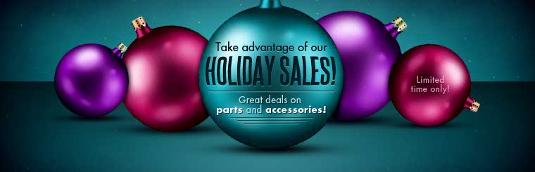Click here to view great deals on parts and accessories.