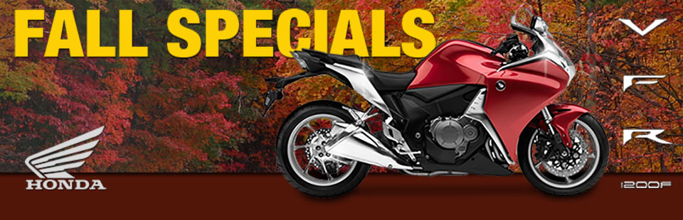 Don't miss fall specials from Honda! Click here to view the lineup.