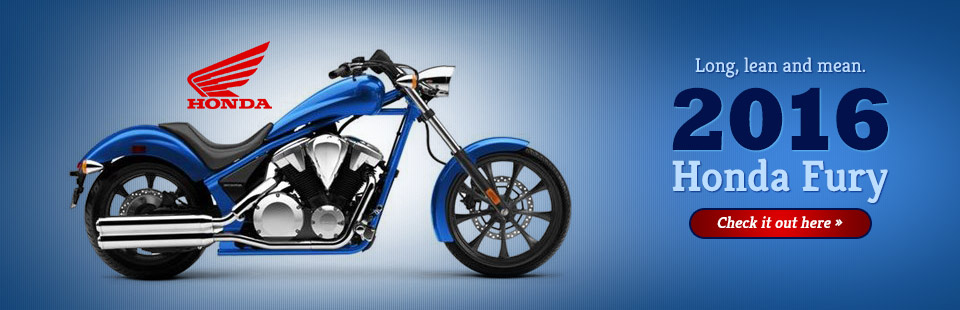 2016 Honda Fury: Click here to view the model!
