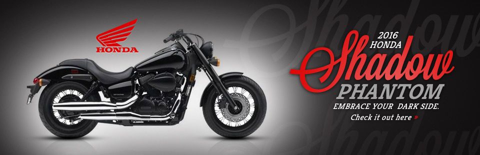 2016 Honda Shadow Phantom: Click here to view the model!