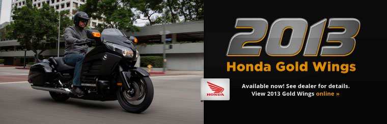 Click here to view the 2013 Honda Gold Wings.