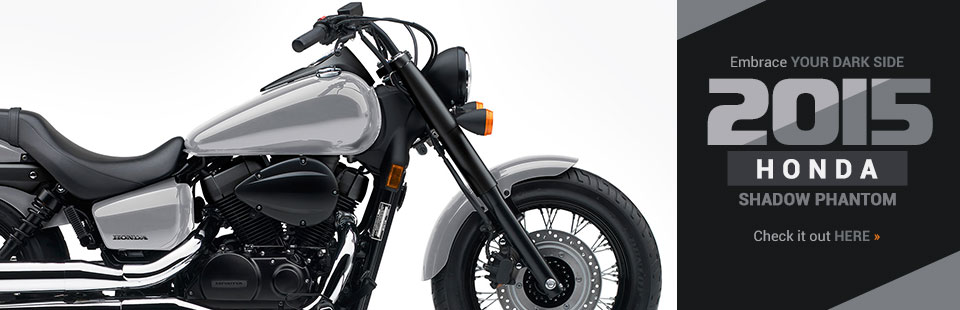 2015 Honda Shadow Phantom: Click here to view the model.