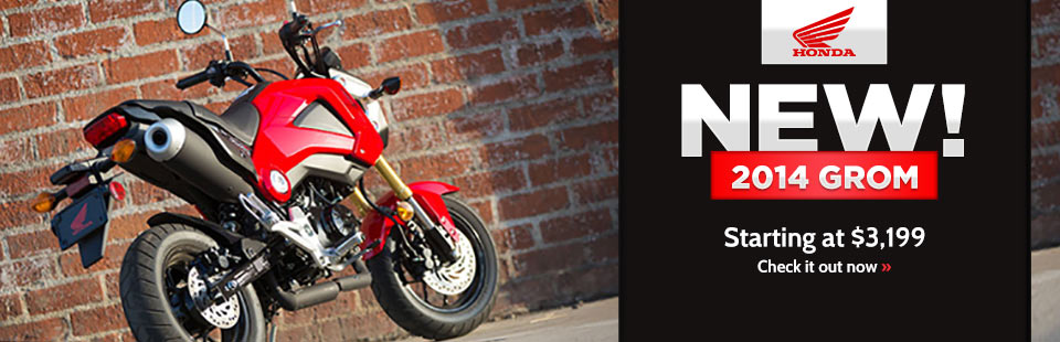 Check out the 2014 Honda Grom.