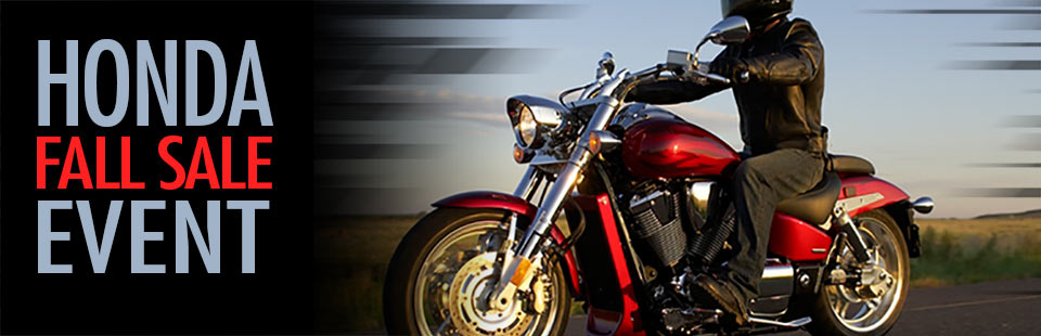 Honda Fall Sale Event: Click here for the lineup.