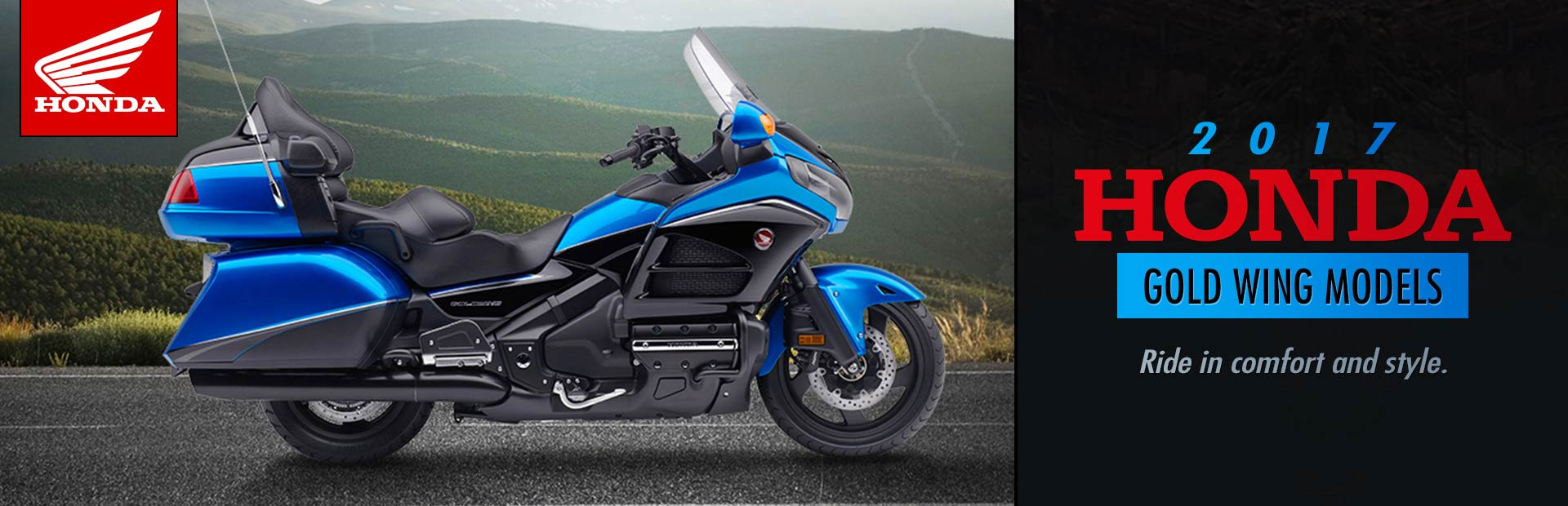 2017 Honda Gold Wing Models: Click here to view the models.
