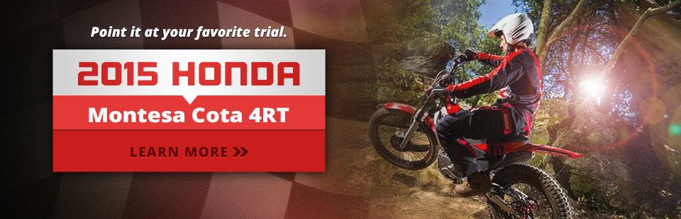 2015 Honda Montesa Cota 4RT: Click here to view the model.