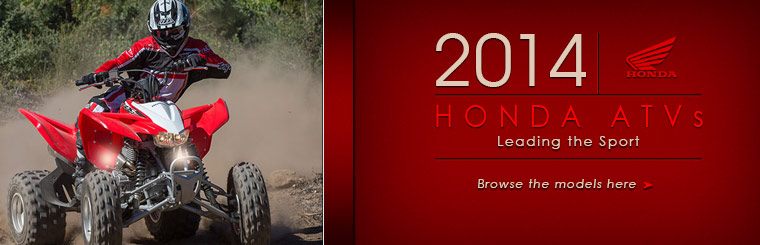 Click here to view the 2014 Honda ATVs.