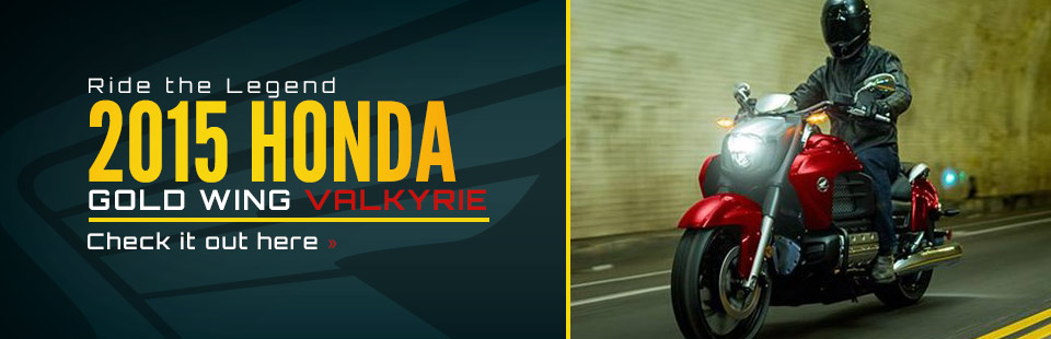 2015 Honda Gold Wing Valkyrie: Click here to view the model.