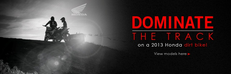 Click here to view the 2013 Honda dirt bikes.