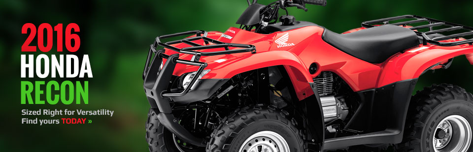 2016 Honda Recon: Click here to view the model.