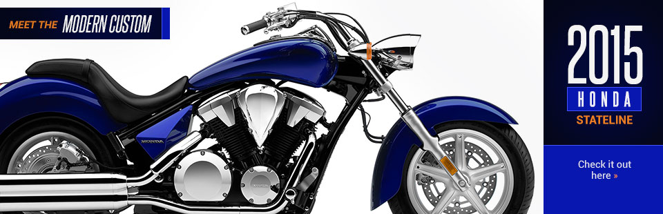 2015 Honda Stateline: Click here to view the model.