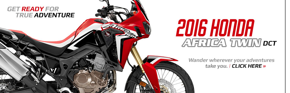 2016 Honda Africa Twin DCT: Click here to view the model.