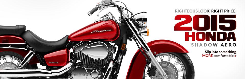 2015 Honda Shadow Aero: Click here to view the model.