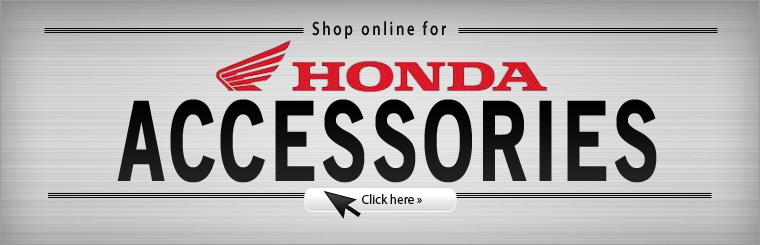 Click here to shop for Honda accessories!
