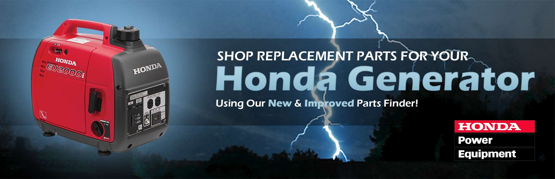 Shop replacement parts for your Honda generator using our new and improved Parts Finder!