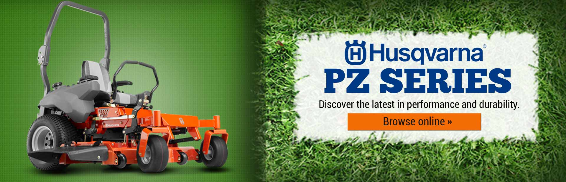 Husqvarna PZ Series Lawn Mowers: Click here to discover the latest in performance and durability.