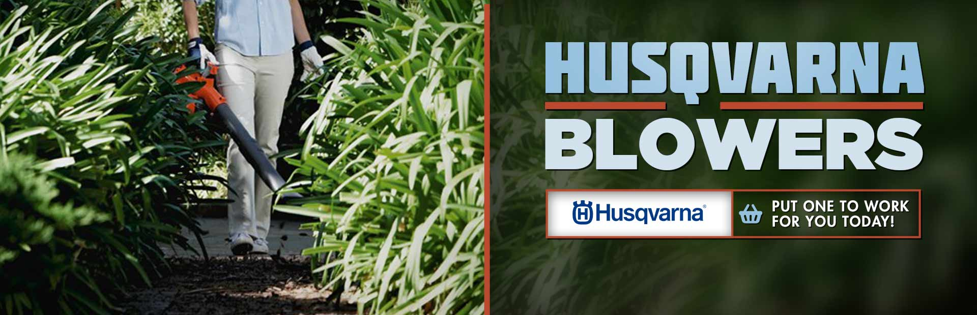 Husqvarna Blowers: Click here to view the models.