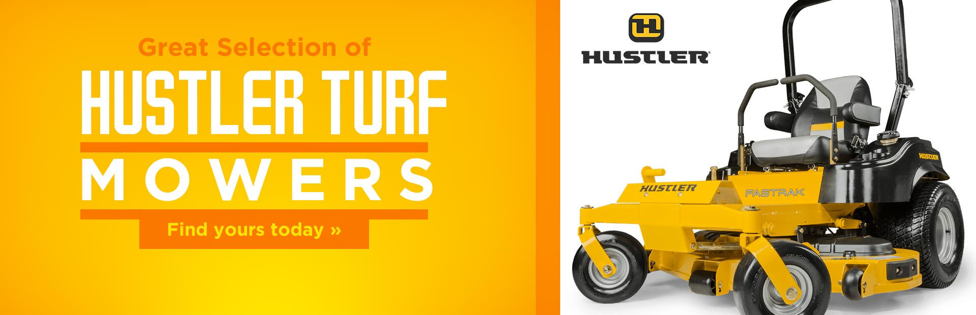 Hustler Turf Mowers: Click here to view our selection!