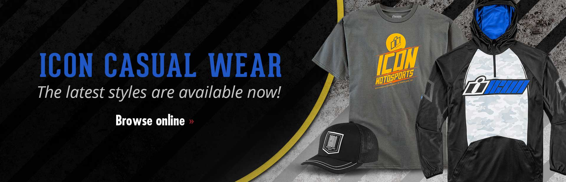 Click here to view Icon casual wear.