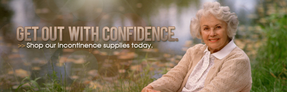 Get Out With Confidence: Click here to shop our incontinence supplies today!