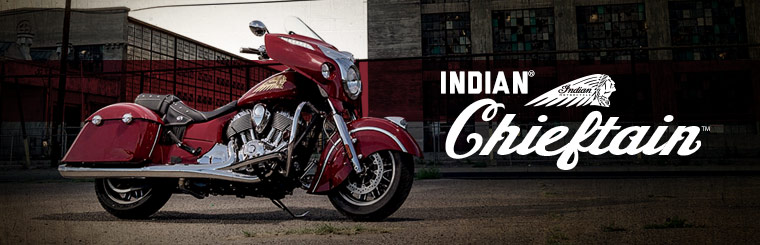 Click here to view the Indian Motorcycle® Chieftain™.