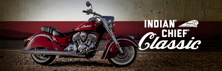 Click here to view the Indian Motorcycle® Chief® Classic.