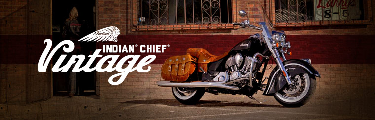 Click here to view the Indian Motorcycle® Chief® Vintage.