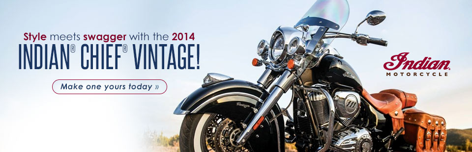 View the 2014 Indian® Chief® Vintage.